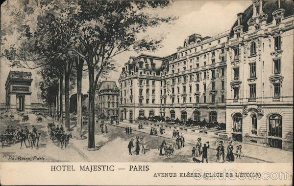 Hotel Majestic - Paris